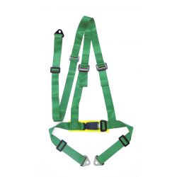 "3 pontos biztonsági öv 2"" (50mm), zöld"