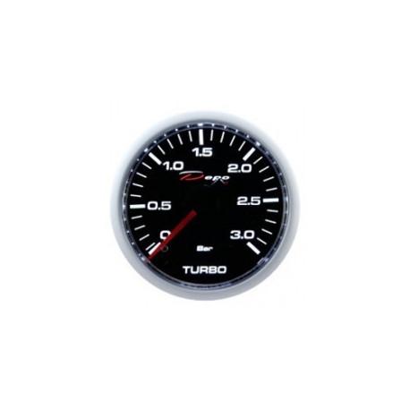 DEPO mérőórak- Night glow 52mm DEPO óra Turbonyomás diesel - Night glow széria 3BAR | race-shop.hu