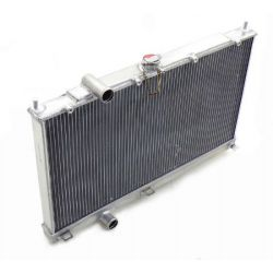 Hliníkový vodný chladič pre Mitsubishi Lancer Evo 4 5 6 (96-01)