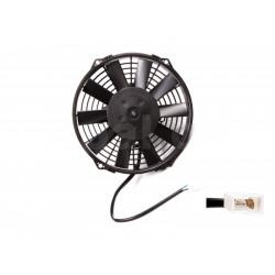 Univerzális elektromos ventillátor SPAL 225mm - szívó, 12V