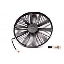 Univerzális elektromos ventillátor SPAL 385mm - nyomó, 12V