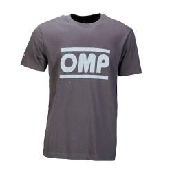 OMP racing spirit rövid ujjú (T-Shirt) szürke