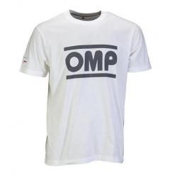 OMP racing spirit rövid ujjú (T-Shirt) fehér