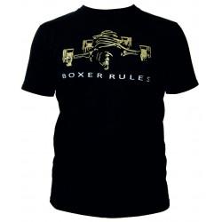 Races rövid ujjú (T-Shirt) Boxer rules fekete