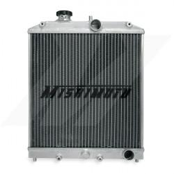 Alumínium verseny hűtő MISHIMOTO - 92-00 Honda Civic / 93-97 Del Sol 3-soros