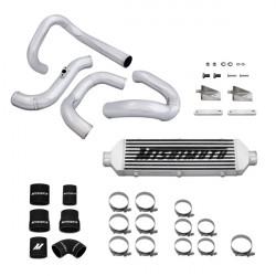Verseny intercooler szett MISHIMOTO - 2010+ Hyundai Genesis Turbo Intercooler & Szett rúr, strieborny