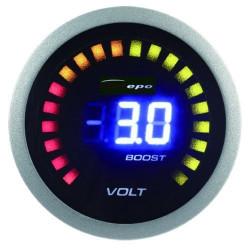 DEPO óra 2in1 Fordulatszámmérő és Turbonyomás- Digital combo széria