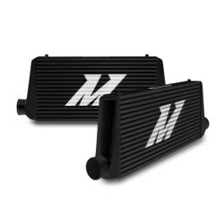 Verseny intercooler MISHIMOTO- Universal Intercooler S Line, Szín: fekete