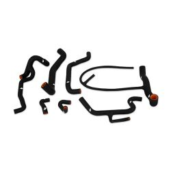 Verseny Szilikon csövek - szett - 95-98 Volkswagen Golf VR6 Szilikon csövek , Kit, Szín: fekete