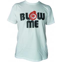 Races rövid ujjú (T-Shirt) Blow me fehér