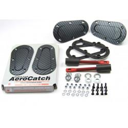 Aerodinamikus Motorháztető leszorítók Aerocatch carbon look