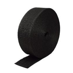 Kipufogó bandázs,fekete, leömlőkre és kipufogócsövekre 50mm x10m x 1mm