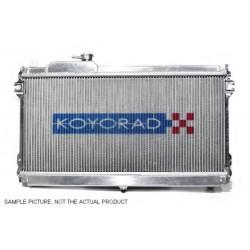 Alumínium verseny hűtő Koyorad Isuzu D-MAX, 02.10~04.10