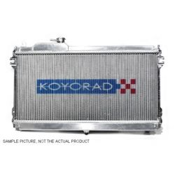 Alumínium verseny hűtő Koyorad Hyundai GENESIS, 10~13