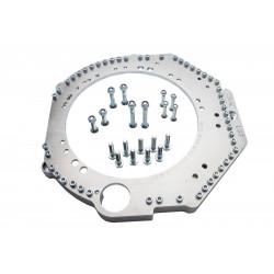 Átalakító adapter Chevrolet LS1 / LS3 / LS7 motorhoz és BMW M50-M57, S50-54 sebességváltóhoz