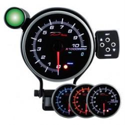 DEPO Programozható fordulatszámmérő óra dual view 95mm - benzines