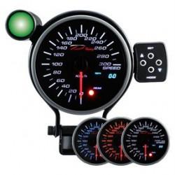 DEPO Programozható sebességmérő óra dual view 95mm