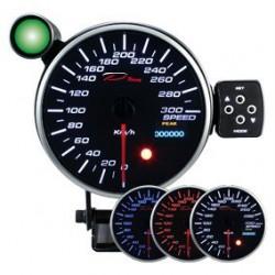 DEPO Programozható sebességmérő óra dual view 115mm