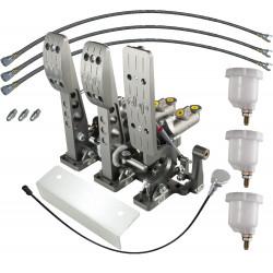 OBP V3 pedálsor, alsó rögzítéses ( munkahengerek hátul ) elektromos gázpedál ( DBW )