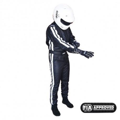 Overálok FIA Overál RRS EVO Diamond Black | race-shop.hu