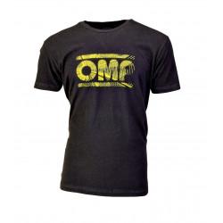 OMP racing rövid ujjú (T-Shirt) fekete