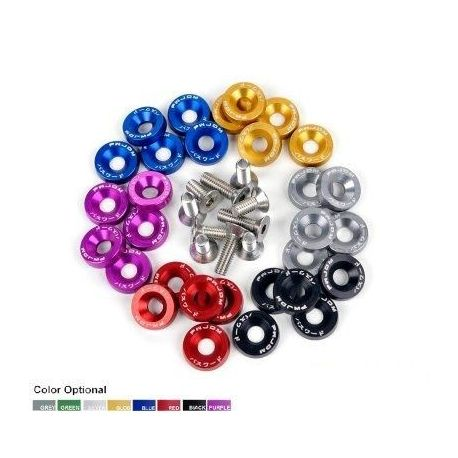 Design kiegészítők JDM színes rögzítő csavarok M6*1 20mm | race-shop.hu