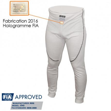 Alsőnemü RRS alsónadrág FIA homológ,fehér | race-shop.hu