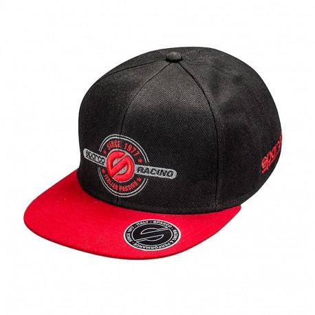 Sparco sapka ( Baseball cap ) fekete piros  9bed322eb6