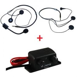 Interkom czentral szett Terratrip Clubman + 2x headset