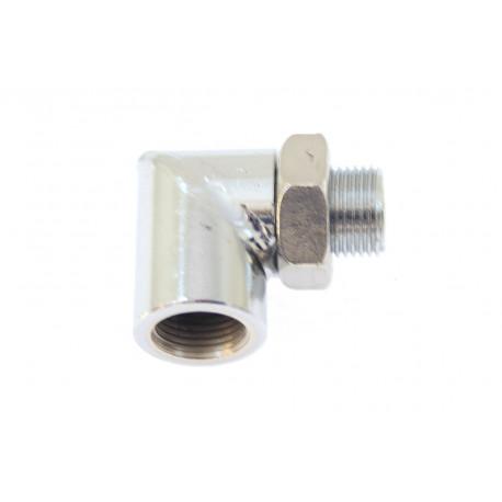 Adapterek érzékelők beszerelésére Lambda sonda adapter M18x1,5 90°   race-shop.hu