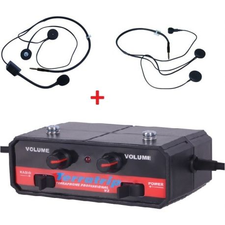 Intercom Kits Interkom czentral szett Terratrip Professional + 2x headset | race-shop.hu