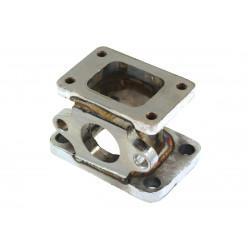 Redukciós turbo adapter T2/T25 - T3 külső wastegate kimenetellel (38mm)