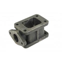 Redukciós turbo adapter T3 - T3-ra külső wastegate kimenetellel (38mm) öntöttvas