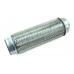 Kipufogó flexibilis cső 250x76mm, rozsdamentes acél