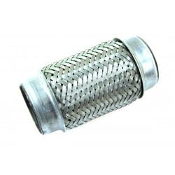 Kipufogó flexibilis cső 150x44mm,rozsdamentes acél