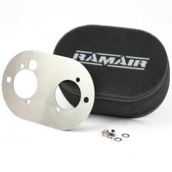 Dual sport légszűrő Ramair karburátorokhoz Weber DCOE 45/48 a Dellorto DHLA 45/48