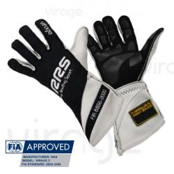 Kesztyű RRS Virage 2 FIA homologizációs (külső varrás) fekete