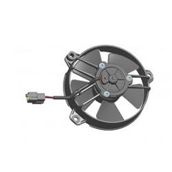 Univerzális elektromos ventillátor SPAL 130mm - nyomó, 24V