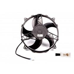 Univerzális elektromos ventillátor SPAL 280mm - szívó, 24V