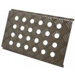 Alu anti-slip floor 230x380mm