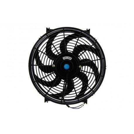 Ventillátorok 12V Univerzális elektromos ventillátor 305mm - nyomó | race-shop.hu