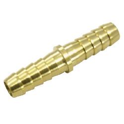 RACES sargaréz cső csatlakozó -6mm, egyenes