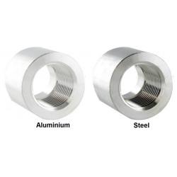 Fitting heggesztésre anya 1/8 NPT,aluminium,acél