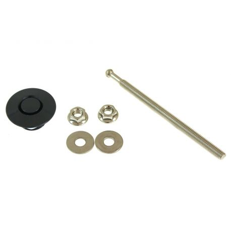 Rozsdamentes acél fogantyúk motorházleszorítók PUSH CLIP Mini (1db)