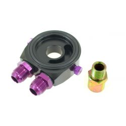 Olajszűrő adapter bemenet / kimenet AN8 black