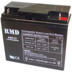 Zselés akkumulátorok RMD Racing 25, 20Ah