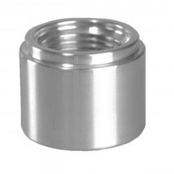 Fitting heggesztésre anya AN4, aluminium