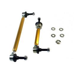 Whiteline Sway bar - link assembly 50mm lift heavy duty adj steel ball, első tengely