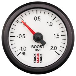 STACK gauge boost pressure 1- 2 bar (mechanical)