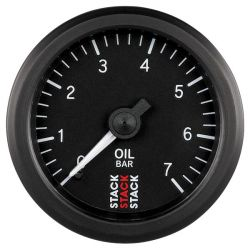 STACK gauge oil pressure 0 -7 bar (mechanical)